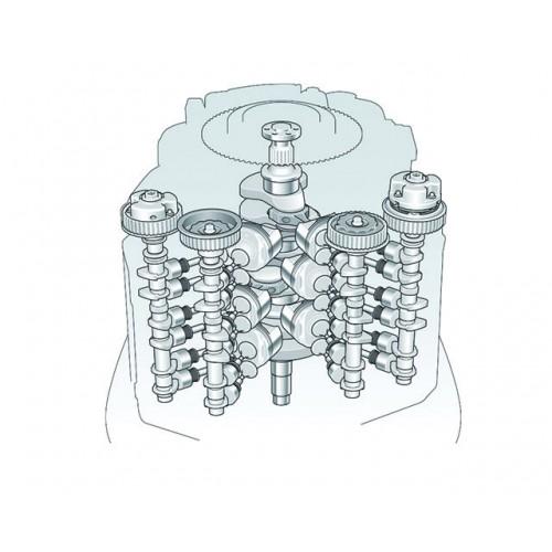 3400cc V6 Engine