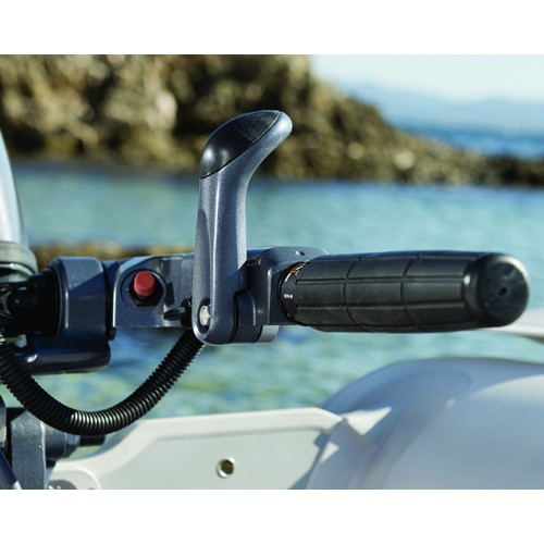 Ergonomic Shift lever and Tiller Handle