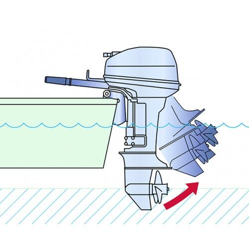 Manual Tilt Shallow Water Drive