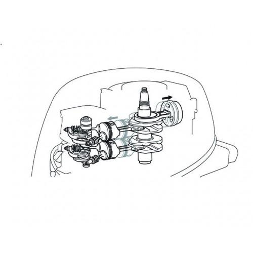 432cc Two-Cylinder High Thrust