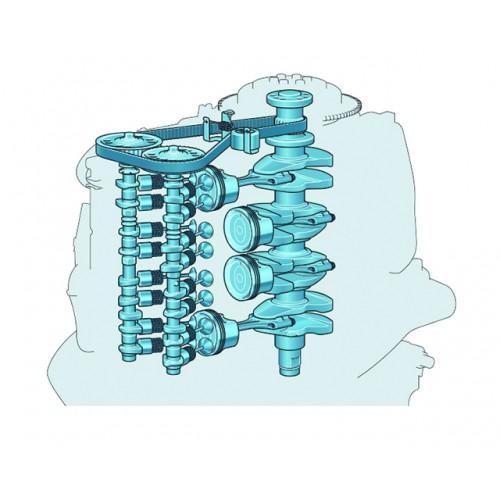 1832cc Four-Cylinder Engine