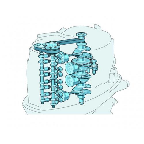 2800cc Four-Cylinder Engine