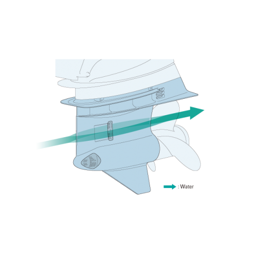 Redesigned Lower Unit