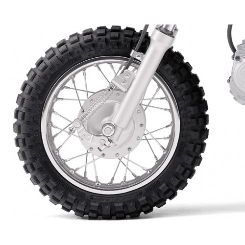 Drum brakes and knobbly tyres