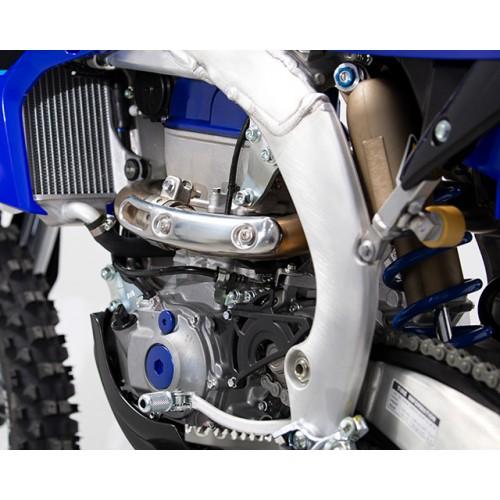 New lighter aluminium frame for sharper handling