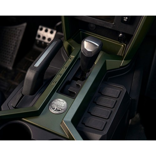 Easy-to-Use Shift and Parking Levers