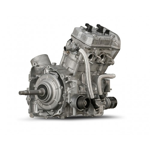 Powerful twin cylinder engine