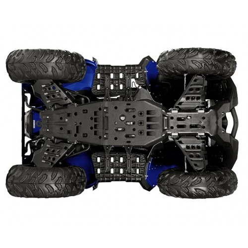 Full coverage lightweight skid plates